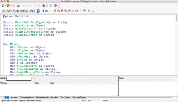 Linguagem de Programação - Macro - diferente